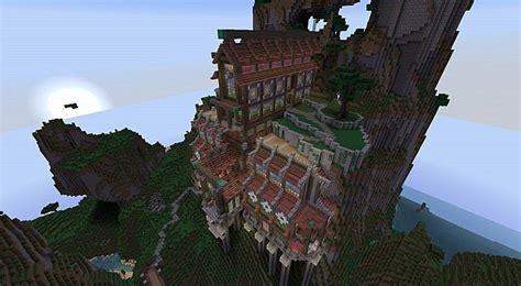 mountainside monastery minecraft map