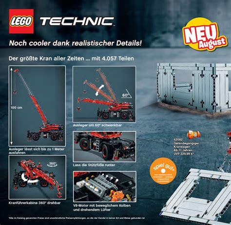lego technic neuheiten sommer 2018 lego technic sommer neuheiten 2018 detailbilder und