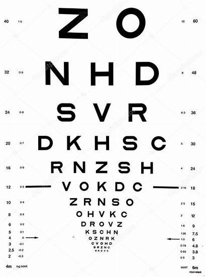 Snellen Chart Eye Test Carta Augen Het