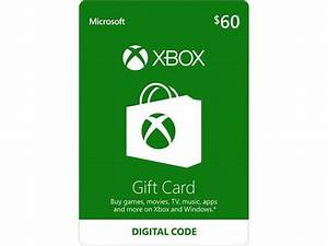 Xbox Gift Card 60 US Email Delivery