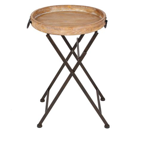 Uniek Marmora Round Metal And Wood Tray Table  Tv Trays. Corner Desk Keyboard Tray. Leather Top Writing Desk. How To Build A Folding Table. Marble Dining Table. Drawer End Table. Aer Lingus Help Desk Cork Airport. Hand Crank Adjustable Desk. Wooden Desk Plaques