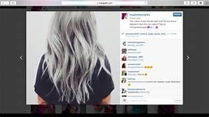 Grau Silber Haare : haare von braun auf silber f rben haarfarbe sch dlich blondieren ~ Frokenaadalensverden.com Haus und Dekorationen