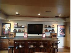 Baseball themed basement wet bar Home Ideas Pinterest