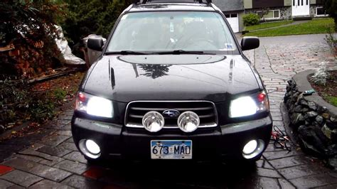 03 forester xs hid s led s