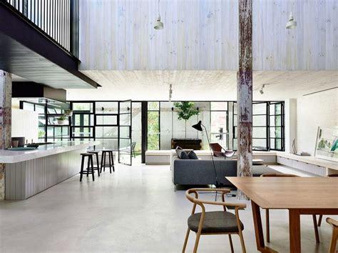 Rénovation D'une Usine En Loft Moderne Et Lumineux