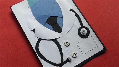 nice doctor themed card diy crafts