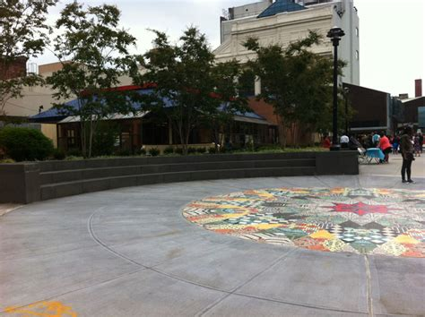 bed stuy restoration plaza neighborhood opens new plazas and