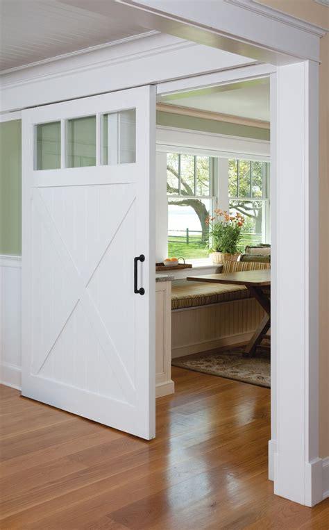 sliding barn doors  separate living spaces barn doors