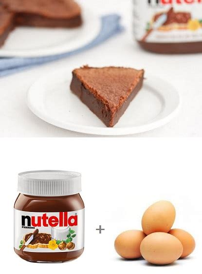 35 how to make a food label. exPress-o: 2 Ingredients + 30 mins = Nutella Cake