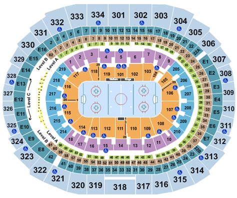 staples center seating chart los angeles