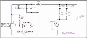 Ir Remote Control Extender Circuit