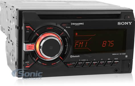 Sony Wx-900bt Double Din Bluetooth Nfc Car Stereo Receiver