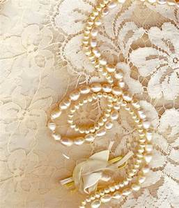 #lace #pearls #wedding, background for your Virtual ...