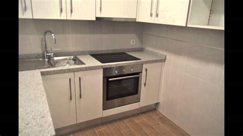 aparicio cocinas blanco brillo encimera granito youtube
