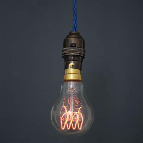 loop carbon filament light bulb is an eco friendly