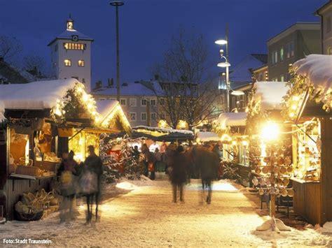 weihnachtsmarkt traunstein christkindlmarkt traunstein