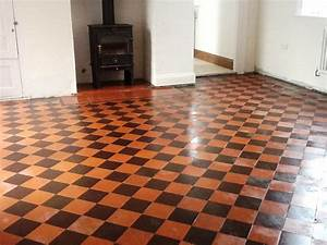 a customer called me out to take a look at restoring the With victorian lino flooring