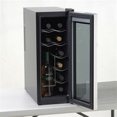 countertop wine cooler avanti ewc1201 10 inch countertop wine cooler with 12