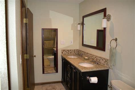 bathroom backsplashes ideas 23 ideas of glass tile trim bathroom