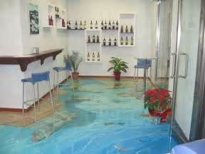 turn any room into a stunning work of with 3d epoxy flooring