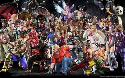 Tekken Characters Wallpapers Games Tournament Tag Background