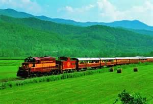 Great Smoky Mountains Railroad Bryson City NC Trains
