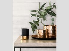 20 Metallic Bits and Baubles to Dress Up Your Coffee Table