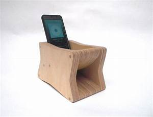 The Brick - Passive Mobile Phone Amplifier - Horn Loaded