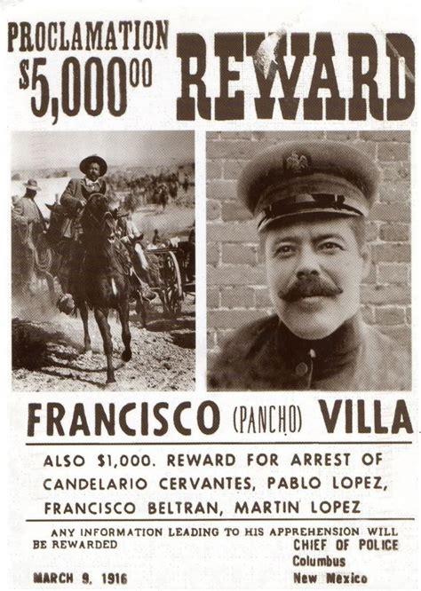 francisco pancho villa wanted poster photo by