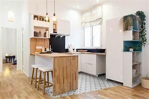 Prix M2 Renovation Complete : r novation compl te d 39 un appartement de 42 m2 paris ~ Melissatoandfro.com Idées de Décoration