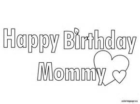 HD wallpapers coloring pages happy birthday mom