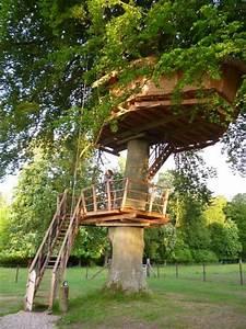 cabane dans les arbres romantique en baie de somme perchee With camping baie de somme piscine couverte 13 cabane dans les arbres 5 pers avec piscine en baie de somme