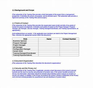 12  Sample Training Plans
