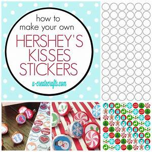 50 best christmas printables images on pinterest merry With hershey kiss labels template