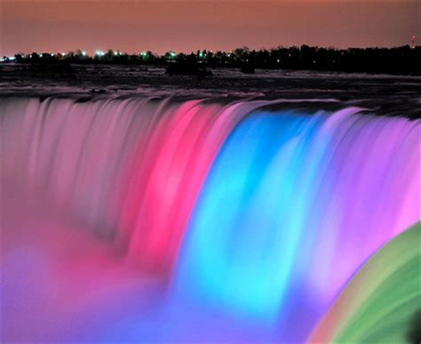 bright  colorful waterfall pictures   images