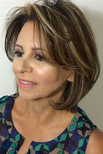 Vetement Femme 50 Ans Tendance : coiffures 2018 femme 50 ans ~ Melissatoandfro.com Idées de Décoration