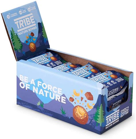 Tribe Nature Bombs Choc plus Cashew Butter 40g | Approved Food