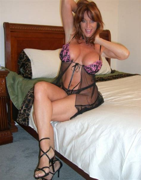 Hot Wife In Sexy Lingerie