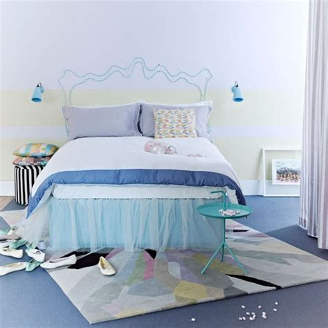 Pastel Bedroom by Punchy Pastel Bedroom Modern Bedroom Decorating Ideas
