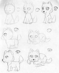 How To Draw a Chibi Wolf by itsmar on DeviantArt