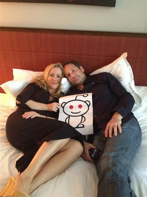 gillian anderson david duchovny celeb dirty laundry