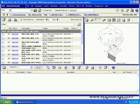 Chevrolet Epc4 Spare Parts Catalog Download
