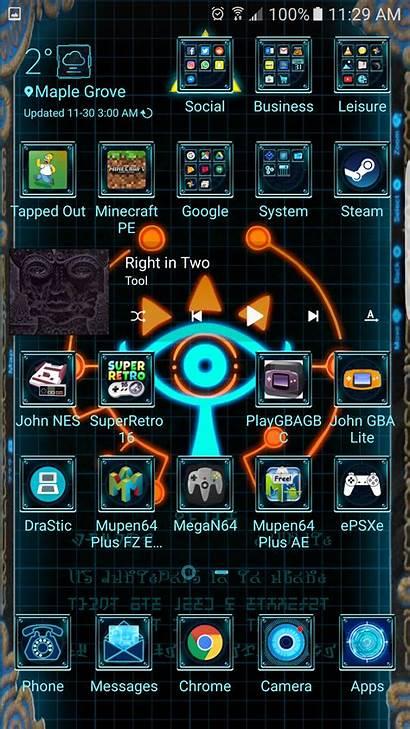 Zelda Phone Screen Apps Geeks Customized Main