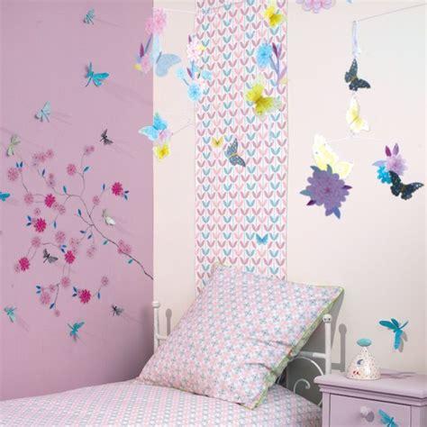 chambre papillon chambre fille papillon fleur djeco picslovin