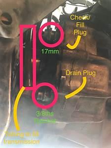 Diy How-to  Manual Transmission Drain  U0026 Refill