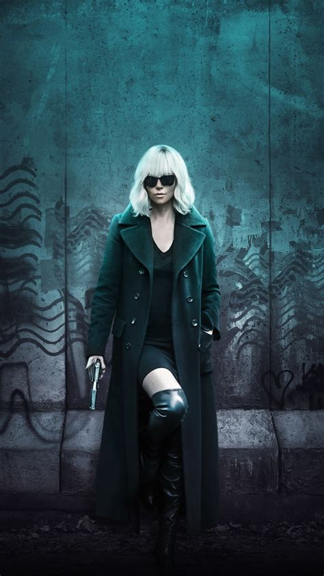 atomic blonde charlize theron  wallpapers hd