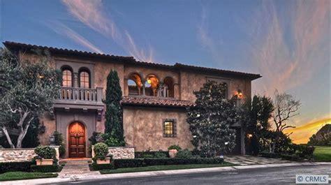 million tuscan inspired beachfront mansion  dana