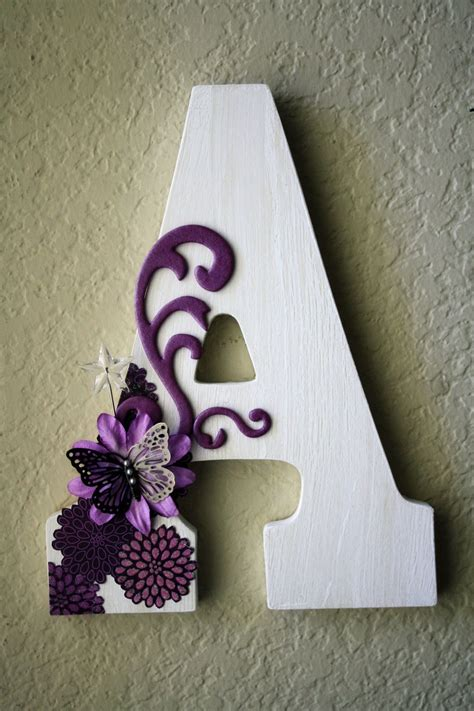 ahsap boyama dekoratif harfler