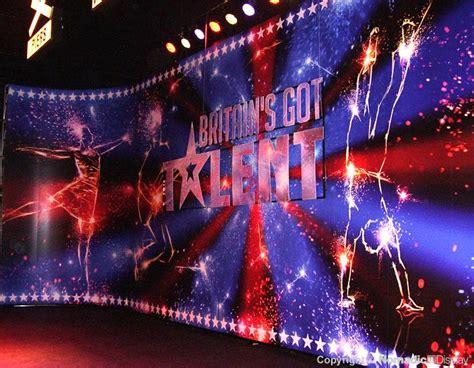 britains  talent show backdrop britain  talent