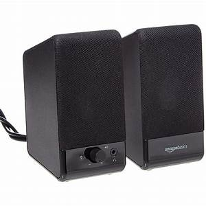 Amazonbasics Computer Speakers  Usb Powered Review  These